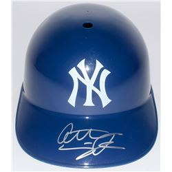 Anthony Seigler Signed New York Yankees Full-Size Batting Helmet (JSA COA)