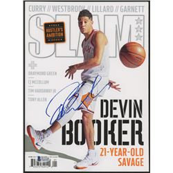 Devin Booker Signed 2018 Slam Magazine (Beckett COA)
