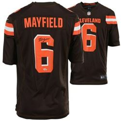 Baker Mayfield Signed Cleveland Browns Jersey (Fanatics Hologram)