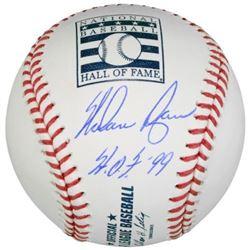 "Nolan Ryan Signed Hall of Fame Logo OML Baseball Inscribed ""HOF 99"" (Fanatics Hologram)"