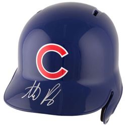 Anthony Rizzo Signed Chicago Cubs Full-Size Helmet (Fanatics Hologram)