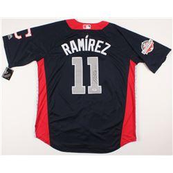 Jose Ramirez Signed 2018 All-Star Game American League Jersey (PSA COA)