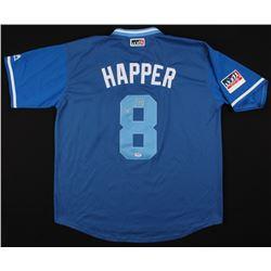 "Ian Happ Signed Chicago Cubs Player's Weekend Jersey Inscribed ""Happer"" (PSA COA)"
