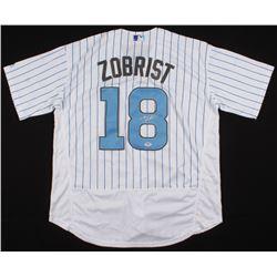 Ben Zobrist Signed Chicago Cubs Jersey (PSA COA)