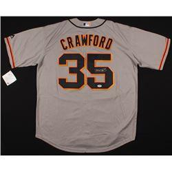Brandon Crawford Signed San Francisco Giants Jersey (PSA COA)
