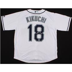 Yusei Kikuchi Signed Seattle Mariners Jersey (PSA COA)