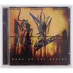 """Soundgarden """"Down On The Upside"""" CD Insert Band Signed by (4) with Chris Cornell, Kim Thayil, Ben Sh"""