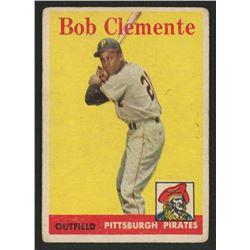 1958 Topps #52A Roberto Clemente
