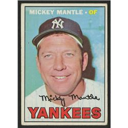 1967 Topps #150 Mickey Mantle