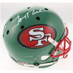 Jerry Rice Signed San Francisco 49ers Full-Size Helmet (JSA COA)