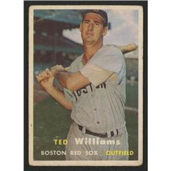 1957 Topps #1 Ted Williams