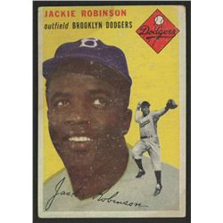 1954 Topps #10 Jackie Robinson