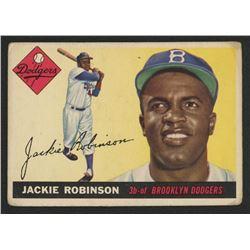 1955 Topps #50 Jackie Robinson
