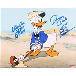 """Tony Anselmo Signed  Inscribed """"Donald Duck"""" Disney 11x14 Photo (PA COA)"""