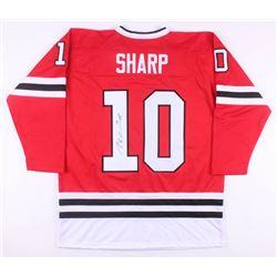 Patrick Sharp Signed Chicago Blackhawks Jersey (JSA COA)