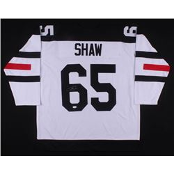 Andrew Shaw Signed Chicago Blackhawks Jersey (JSA COA)
