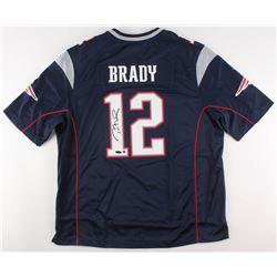 Tom Brady Signed New England Patriots Jersey (Steiner COA  TriStar Hologram)