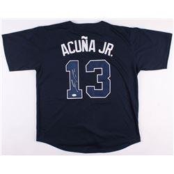 Ronald Acuna Jr. Signed Atlanta Braves Jersey (JSA COA)