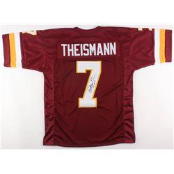 "Joe Theismann Signed Washington Redskins Jersey Inscribed ""83 MVP"" (JSA COA)"