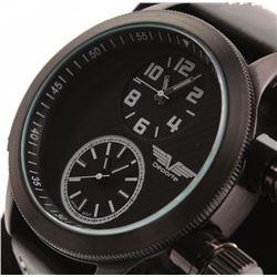 Deporte Sutton Dual Timezone Gascap Men's Watch