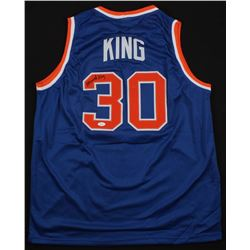 Bernard King Signed New York Knicks Jersey (JSA COA)