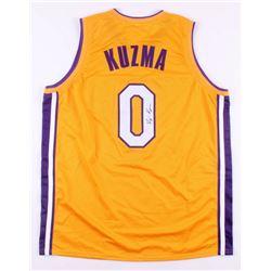"Kyle Kuzma Signed Los Angeles Lakers ""Kuzma Kid"" Jersey (JSA COA)"