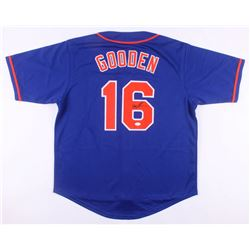 Dwight Gooden Signed New York Mets Jersey (JSA COA)