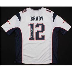 Tom Brady Signed New England Patriots Jersey (Steiner Hologram  TriStar Hologram)