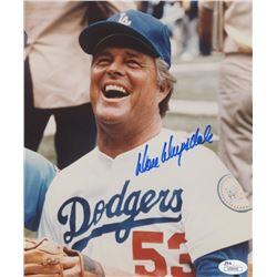 Don Drysdale Signed Los Angeles Dodgers 8x10 Photo (JSA COA)