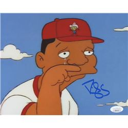 "Darryl Strawberry Signed ""The Simpsons"" 8x10 Photo (JSA COA)"