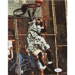 "Larry Johnson Signed ""Family Matters"" 8x10 Photo (JSA COA)"