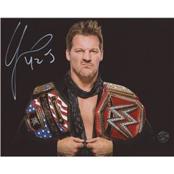 "Chris Jericho Signed WWE 8x10 Photo Inscribed ""Y2J"" (Legends COA)"