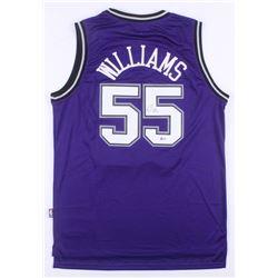 Jason Williams Signed Sacramento Kings Jersey (Beckett COA)