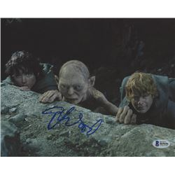"""Elijah Wood Signed """"The Lord of the Rings"""" 8x10 Photo (Beckett COA)"""