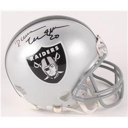 Darren McFadden Signed Oakland Raiders Mini Helmet (JSA COA)