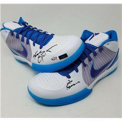 "Kobe Bryant Signed Nike Kobe 4 Protro Limited Edition Basketball Shoes Inscribed ""20 Seasons"" (Panin"