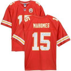 "Patrick Mahomes Signed Kansas City Chiefs Jersey Inscribed ""18 NFL MVP"" (Fanatics Hologram)"