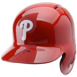 J.T. Realmuto Signed Philadelphia Phillies Full-Size Batting Helmet (Fanatics Hologram)