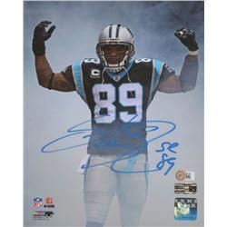 Steve Smith Sr. Signed Carolina Panthers 8x10 Photo (Radtke COA  Sports Memorabilia COA)