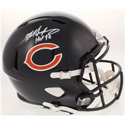 70197388b54 Mike Singletary Signed Chicago Bears Full-Size Speed Helmet Inscribed