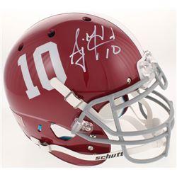 AJ McCarron Signed Alabama Crimson Tide Full-Size Authentic On-Field Helmet (Radtke COA)