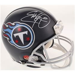Eddie George Signed Tennessee Titans Full-Size Authentic On-Field Helmet (Radtke COA)