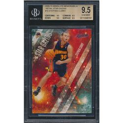 2009-10 Absolute Memorabilia Retail Star Gazing #10 Stephen Curry (BGS 9.5)