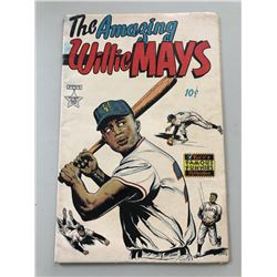 """1954 """"The Amazing Willie Mays"""" Issue #1 Famous Funnies Comic Book"""