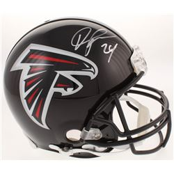 Devonta Freeman Signed Atlanta Falcons Full-Size Authentic On-Field Helmet (Radtke COA)