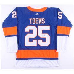 Devon Toews Signed New York Islanders Jersey (JSA COA)