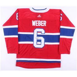 Shea Weber Signed Montreal Canadiens Jersey (JSA COA)