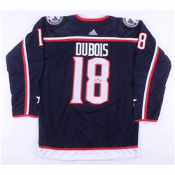 Pierre-Luc Dubois Signed Columbus Blue Jackets Jersey (JSA COA)