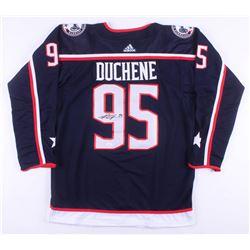 Matt Duchene Signed Columbus Blue Jackets Jersey (JSA COA)