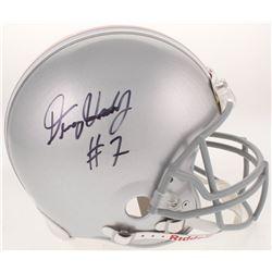 Dwayne Haskins Signed Ohio State Buckeyes Full-Size Authentic On-Field Helmet (Radtke COA)